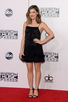 Lucy Hale at the 2014 American Music Awards. Photo: Getty Images