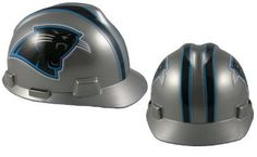 MSA NFL Ratchet Suspension Hardhats - Carolina Panthers  http://allstarsportsfan.com/product/msa-nfl-ratchet-suspension-hardhats/?attribute_pa_color=carolina-panthers  Great way to show your team spirit for your favorite NFL team Perfect to wear on the job or at the game Makes a great gift for any football fan