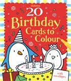 20 birthday cards to colour