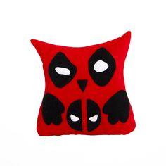 Дэдпул Deadpool Marvel Comics Owl Pillow - Совы Подушки от Швейных дел мастера www.masterpillow.ru