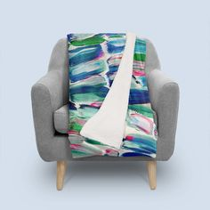 Discover «Sweet Sugarcane», Numbered Edition Throw Blanket by Alicia Jones - From $65 - @anellejay @Curioos