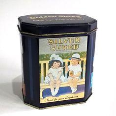 VINTAGE ADVERTISING TIN GOLDEN SHRED SILVER SHRED MARMALADE POST CARD IMAGES | eBay