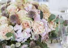 Nydelige pastellfarger er passende til bryllup året rundt.
