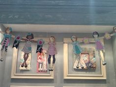 Prima paper doll chain. Love it.