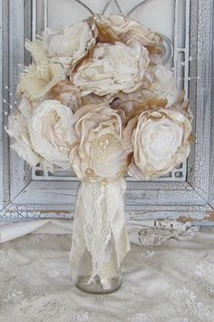 Handmade Spark - mybrokenart - Burlap Wedding Bouquet Vintage Inspired ...570 x 858135.6KBwww.handmadespark.com