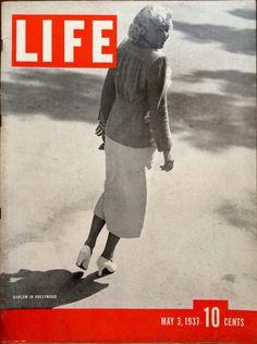 Jean Harlow. LIFE May 3, 1937.