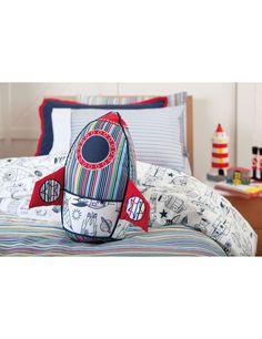 David Jones - Sheridan Baby Jaspper Kids Rocket Cushion