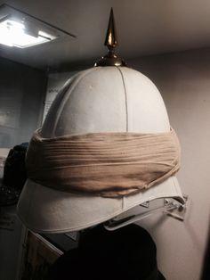 3bd784402493a British Officers Foreign Service Helmet KSLI Afghan Wars