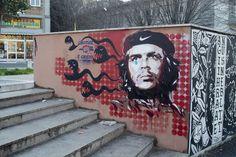 StreetArt Roma: L'urlo del Che | Diavù | 2015 | Zona: Quadraro | #art #streetart #roma