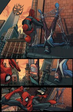 spidey page 1 by ZurdoM.deviantart.com on @deviantART
