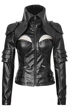 Punk Rave Gothic Xena Jacket
