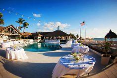 Romantic Beach Wedding at The Gasparilla Inn, FL