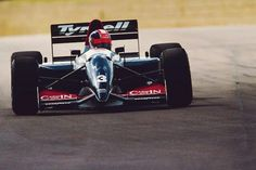Ukyo Katayama ~ Tyrrell-Yamaha, Silverstone ~ British Grand Prix 1993