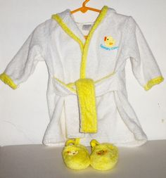 c60dad1c0 Lovable Friends Terry Cloth Hooded Robe with Duck Slippers Infant or  Toddler #LovableFriends #Everyday