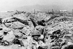 French troops in trench, Dien Bien Phu,1954 - pin by Paolo Marzioli