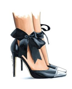 So I'm pretty much obsessed with bows at this point.I want to know what your fashion obsession is? Fashion Art, Fashion Shoes, Fashion Accessories, Fashion Illustration Shoes, High Heels Boots, Bow Heels, Shoe Sketches, Fashion Figures, Fashion Design Sketches