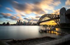 Sydney sunset.. by Chef'John  on 500px