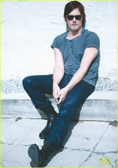 norman reedus leather pants - Google Search