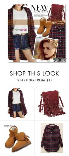 """""""~Plaid & Fringe~"""" by amethyst0818 ❤ liked on Polyvore featuring Prada, women's clothing, women's fashion, women, female, woman, misses and juniors"""