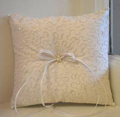 Ring Bearer Pillow ~ www.CouturesbyLaura.etsy.com ~ $49.99