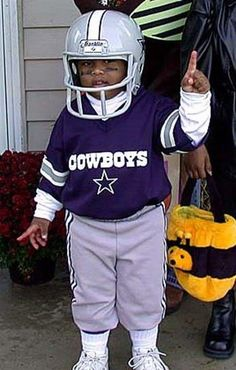 Dallas Cowboys!!  this is sooooo my hubby when he was little!!!  :)