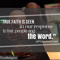 True faith is seen in our response to trial, people and the word.