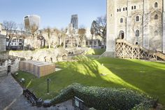 Completed in 2015 in London, United Kingdom. Images by Edmund Sumner, Jack Hobhouse . Llowarch Llowarch Architects has completed a new enclosure for the legendary Ravens at HM Tower of London. Perched on the edge of a grassy slope, in...