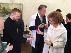 Principesa Mostenitoare si Principele Radu, a doua zi de Paste, Centrul Episcopal al Europei de Nord, 2mai2016 (11)