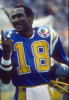 American Football League, National Football League, Football Photos, Sports Photos, Nfl Hall Of Fame, Football Uniforms, San Diego Chargers, San Diego Padres, Wide Receiver