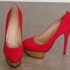 Charlotte Olympia Heels (Red), I should have one of their collection