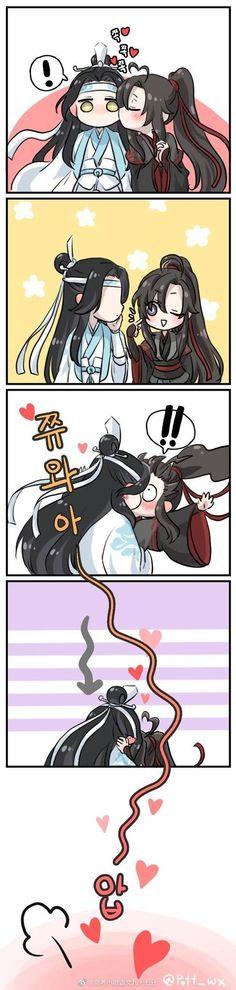 Cute Gay Couples, Anime Couples, Cute Anime Guys, Anime Love, Anime Chibi, Manga Anime, Nezumi No 6, Chinese Cartoon, Animal Sketches