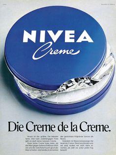 La crème Nivea dans la fameuse boîte bleue
