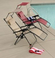 Help dad kick back and relax with this Gravity Outdoor Chair #kirklands #giftsgalore