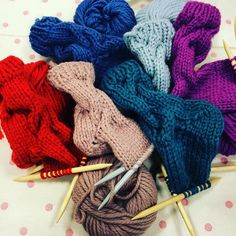 Gorgeous pile of socks  Had so much fun teaching sock workshop today @JohnLewis Bluewater #knit #learn #sockknitting #teach @rowanyarns #knitstagram #knittingaddicts #knittingofinstagram #moochka #AnnaNikipirowicz by nikipirowicz