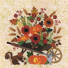 Blk # 13 Bountiful Harvest, Pearl P. Pereira Designs