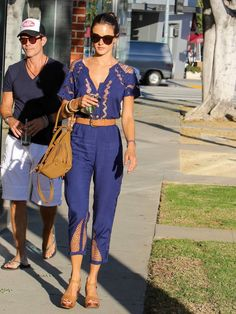 Pin for Later: 1 Week of Alessandra Ambrosio's Comfy and Stylish Street Style