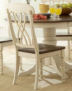 Ohana Side Set Dining Chair in Warm Cherry/Antique White Finish by Homelegance Furniture (Set of 2) by Homelegance. $157.55. Set of 2.. Warm Cherry / Antique White Finish. Traditional Style. Bring a simple yet beautiful design to your home with the Ohana Side Set Dining Chair in Warm Cherry/Antique White Finish by Homelegance Furniture (Set of 2). This item is so literally named because they are made for one purpose, and one purpose only: total and complete functi...