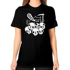 Cat Got Your Soul Unisex T-Shirt (on woman)