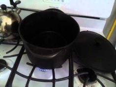 Cleaning cast iron.  http://youtu.be/GCr0Wy5tGGU