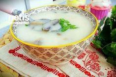 Kremalı Tadında Nefis Mantar Çorbası Tarifi