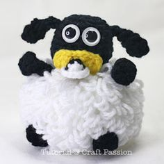 Free pattern! Timmy from Timmy Time. I know a little girl who is obsessed with the show!