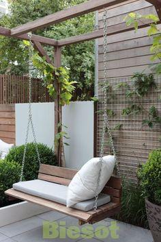 Balcony Garden 93953 Best backyard patio hacks to create the best space, # best . - Balcony Garden 93953 Best backyard patio hacks to create the best space, # best # best # hacks # ba - Pergola Patio, Backyard Patio, Backyard Landscaping, Pergola Kits, Pergola Swing, Modern Pergola, Landscaping Ideas, Small Pergola, Pergola Plans