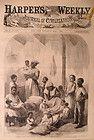 NASHVILLE & MEMPHIS, TN 1866 Harper's Weekly / ST. JOHN RIVER NEW BRUNSWICK - &amp, 1866, BRUNSWICK, Harper's, JOHN, MEMPHIS*, Nashville, RIVER, Weekly