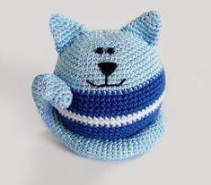 Descargate el patron amigurumi gato bola facielmente en un solo click en Creative and Craft tu pagina de crochet, amigurumi, punto y manualidades