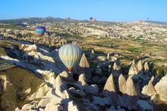 Hot-air ballooning in Cappadocia, Turkey • one of Frommer's 'Trips of a Lifetime'