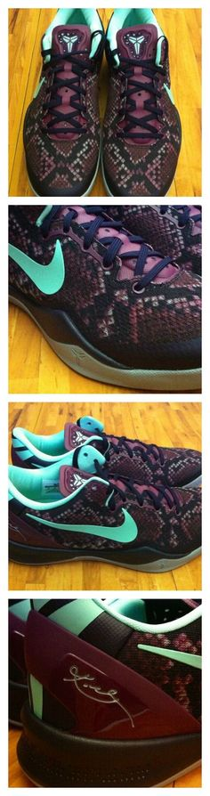 The Nike Kobe 8 System 'Pit Viper' #Eastbay #Basketball #Shoes