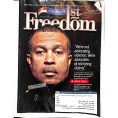 Cover Print of Americas 1st Freedom, June 2014 | $5.94