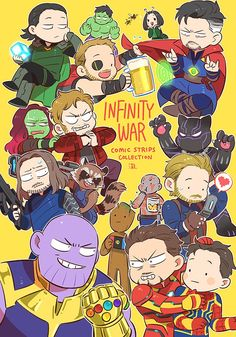 Groot's PSP has an avengers logo mantis is looking at hope(wasp) and all of the infinity stones look like they have emotions! Also gamora is pushing quilt towards black panther 😵 The Avengers, Avengers Comics, Marvel Jokes, Marvel Funny, Funny Comics, Marvel Dc, Marvel Fan Art, Marvel Heroes, Bruce Banner