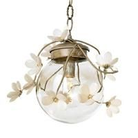 Globe Branches from Canopy Designs - metal branches with porcelain flowers