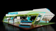 daikin exhibition design by Rajan Priyadarshi at Coroflot.com